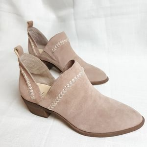 Sole society So nikky side split blush ankle boots